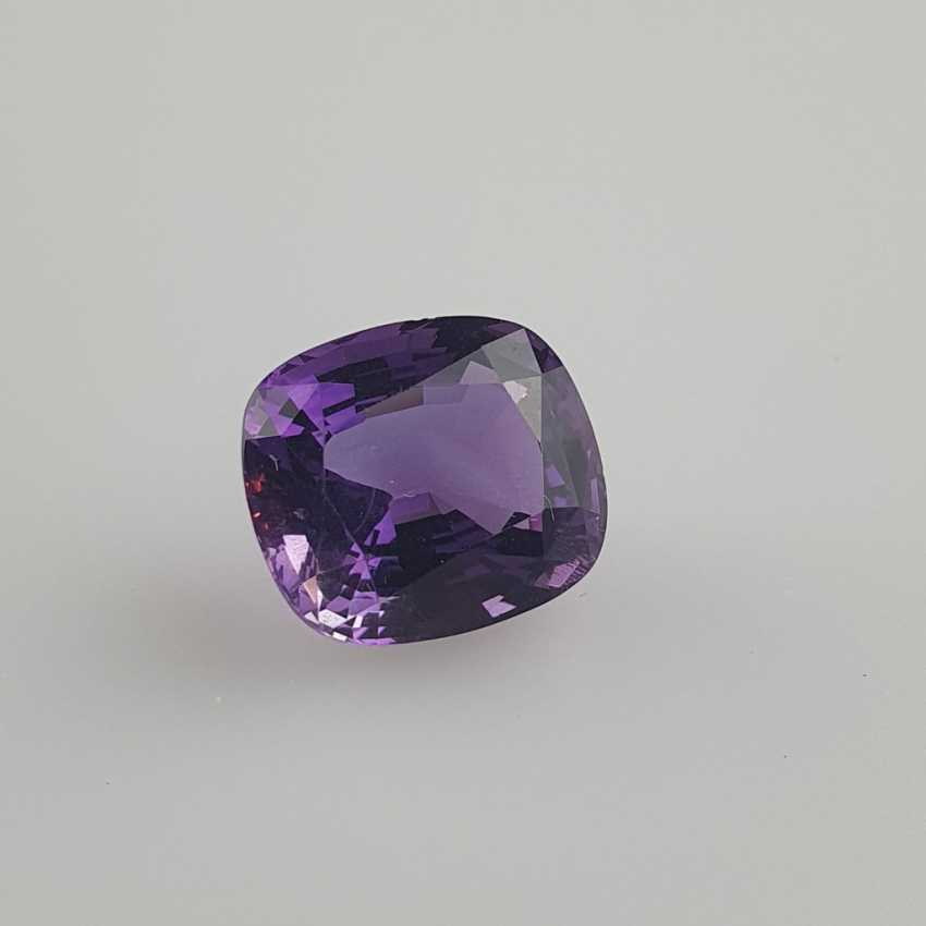 Large cut amethyst - photo 1