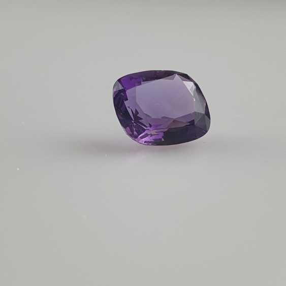 Large cut amethyst - photo 3