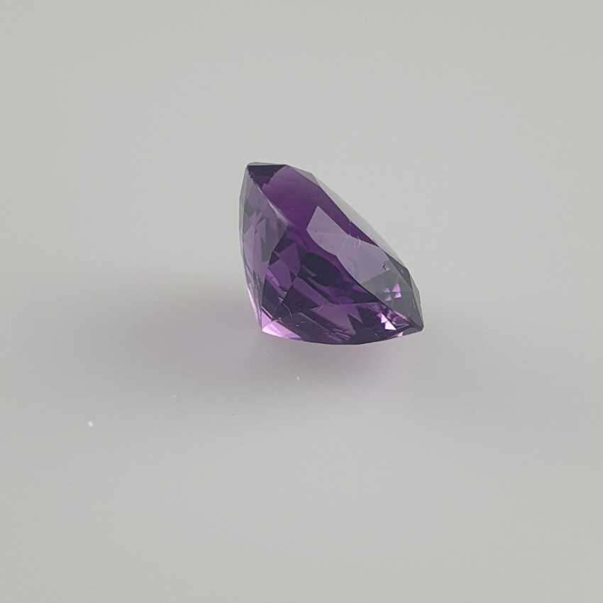 Large cut amethyst - photo 4