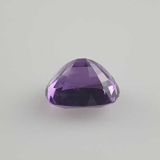 Large cut amethyst - photo 5