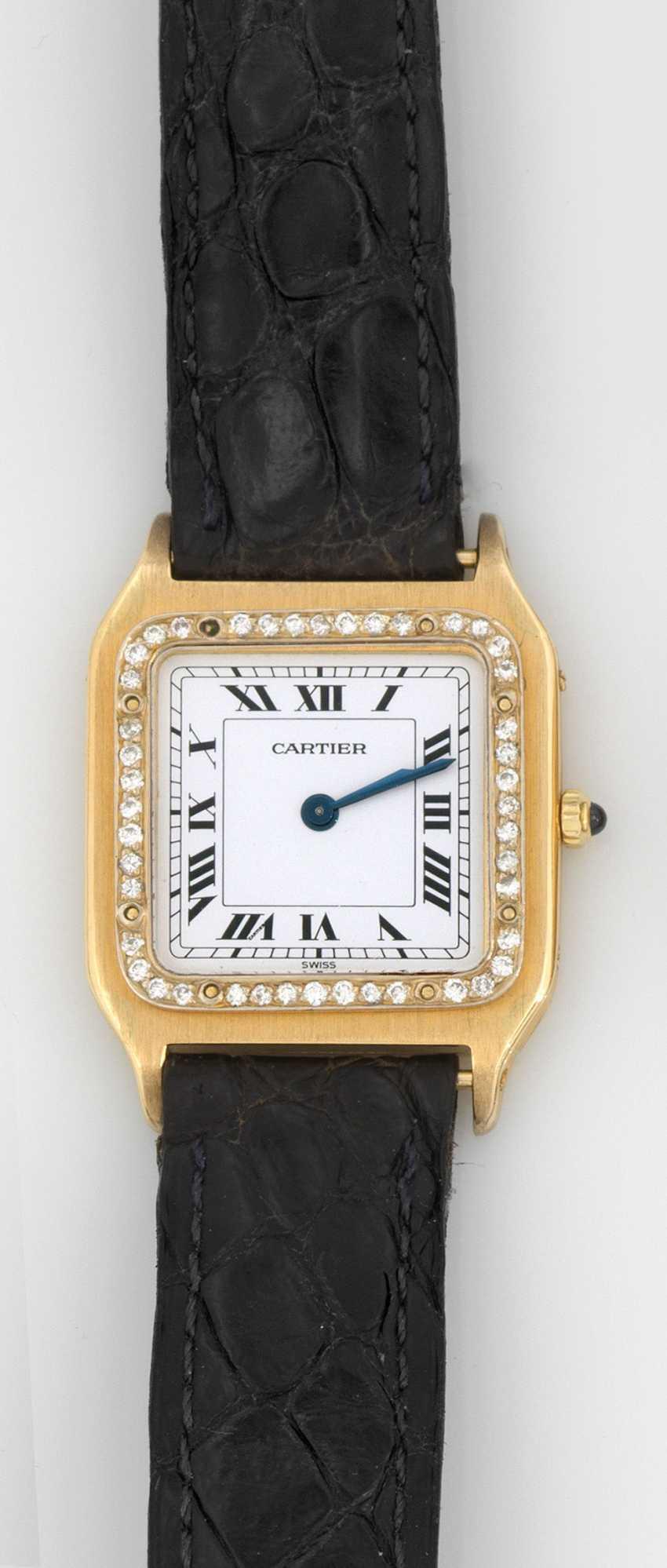 Ladies ' wristwatch, by Cartier - photo 1