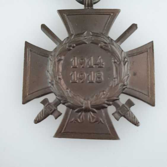 Cross of honor for front fighters 1914/1918 - photo 2