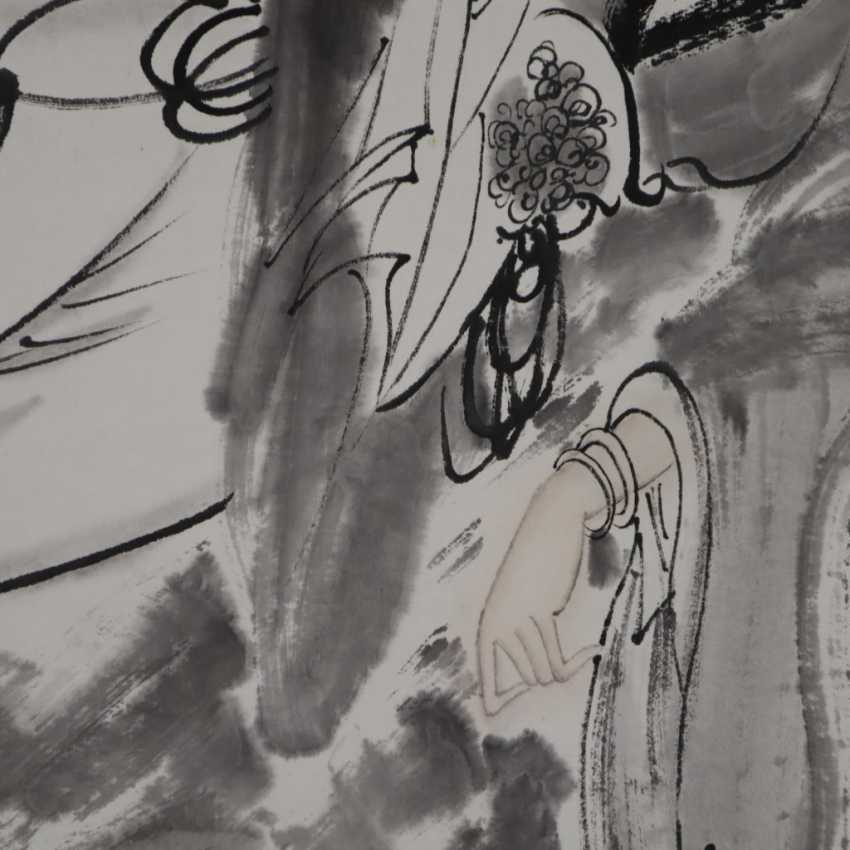 Chinese scroll painting - photo 4