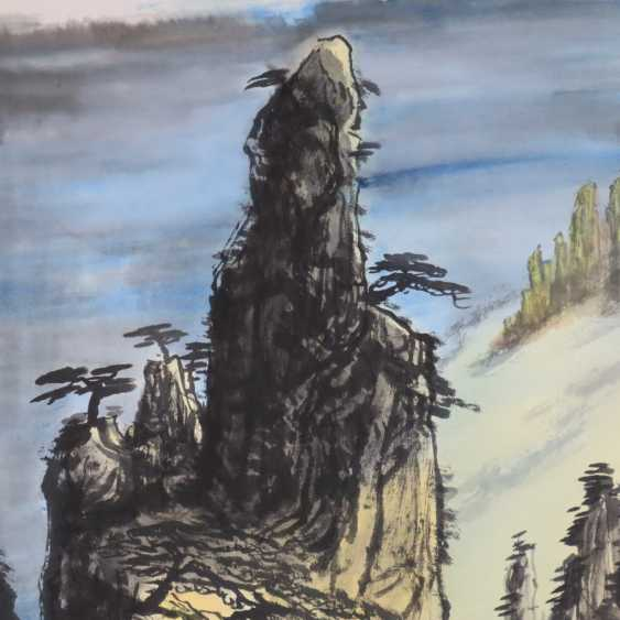 Chinese scroll painting - photo 2