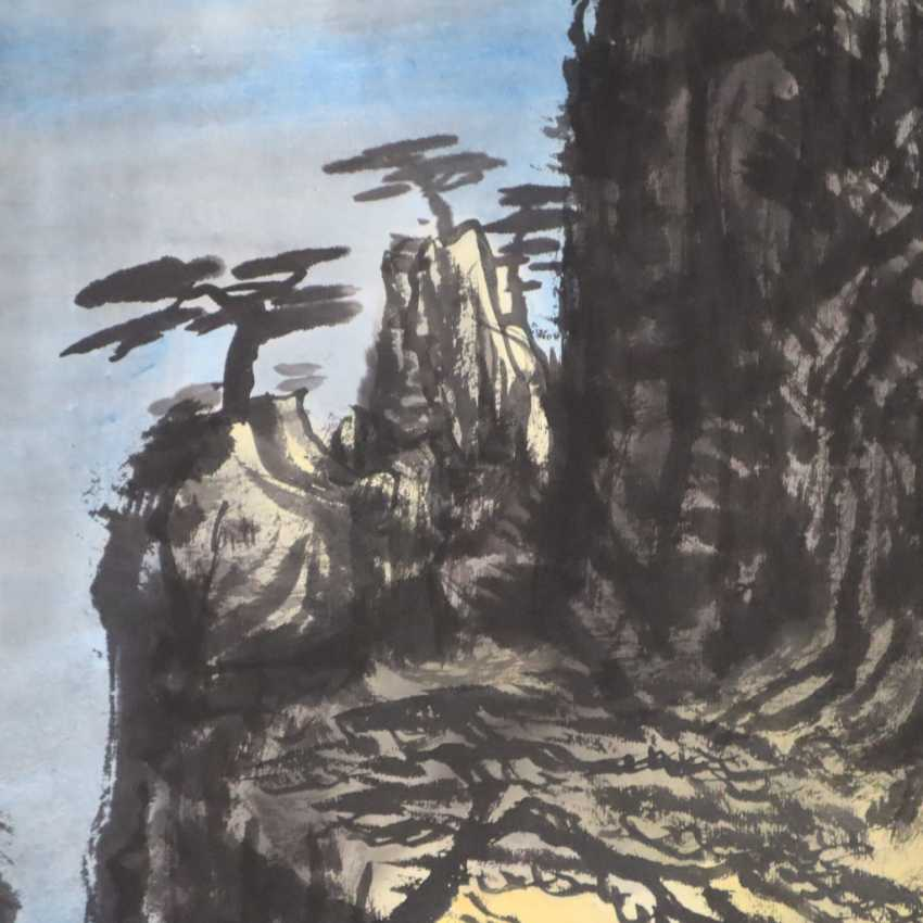 Chinese scroll painting - photo 3