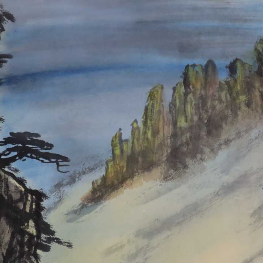 Chinese scroll painting - photo 5