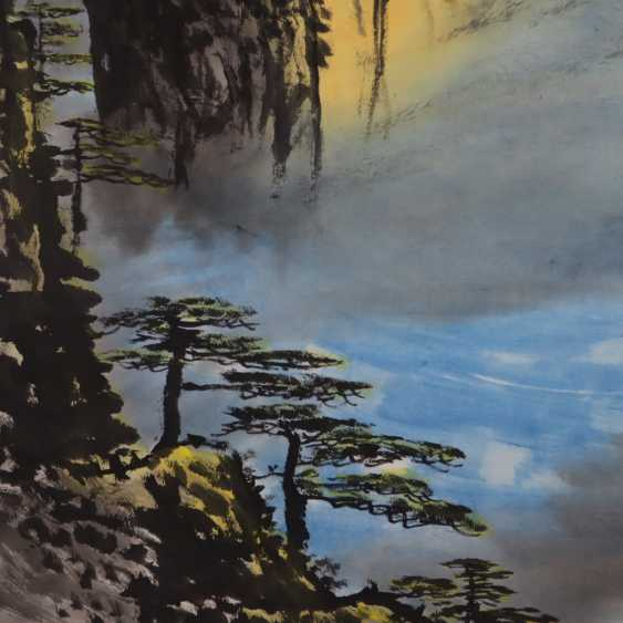 Chinese scroll painting - photo 7