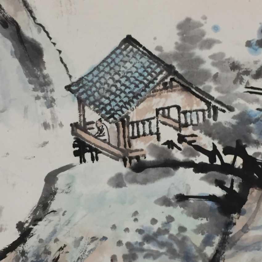 Chinesisches Rollbild - photo 2