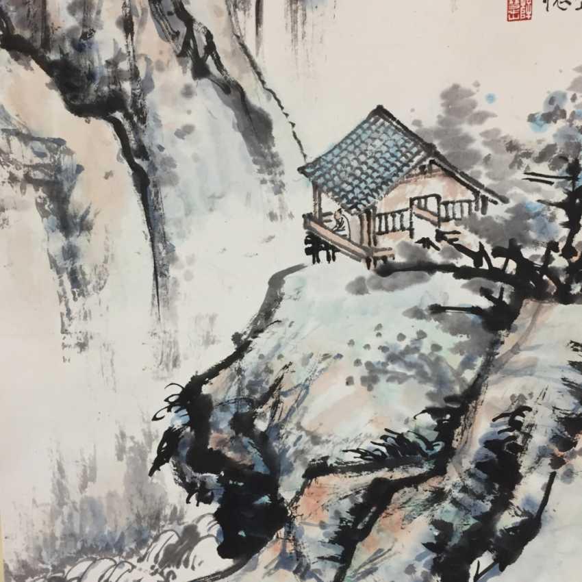 Chinesisches Rollbild - photo 3