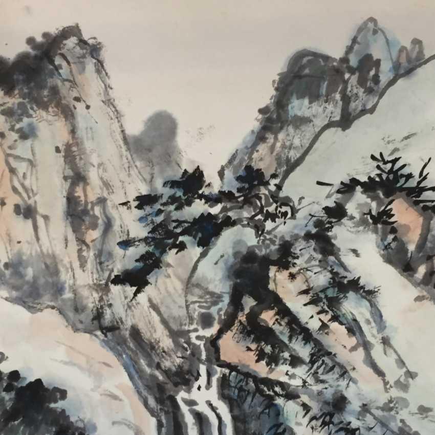 Chinesisches Rollbild - photo 4