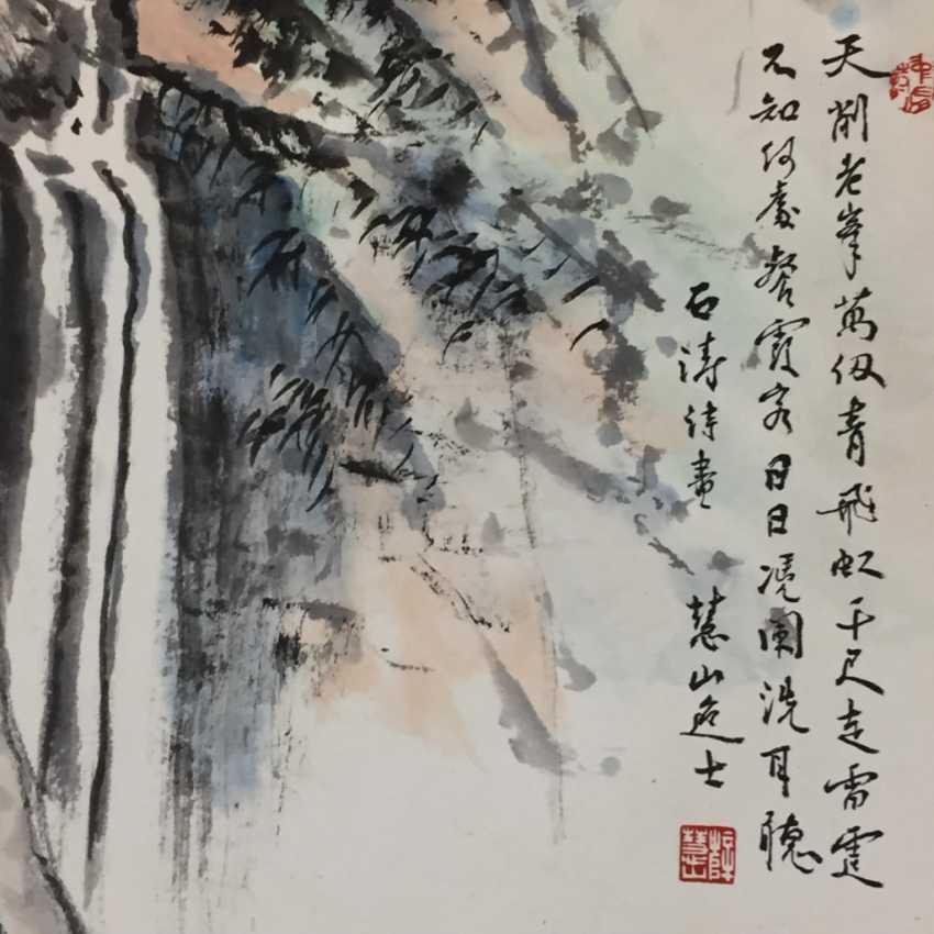 Chinesisches Rollbild - photo 6
