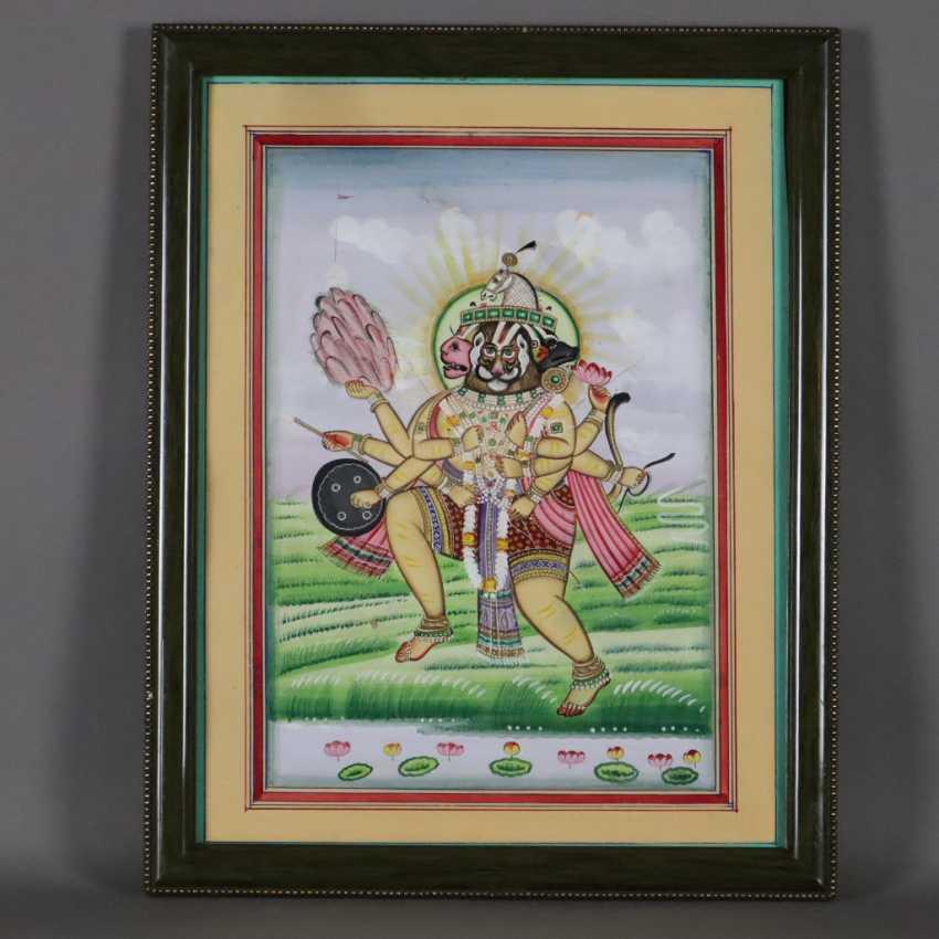 Indische Malerei - photo 7
