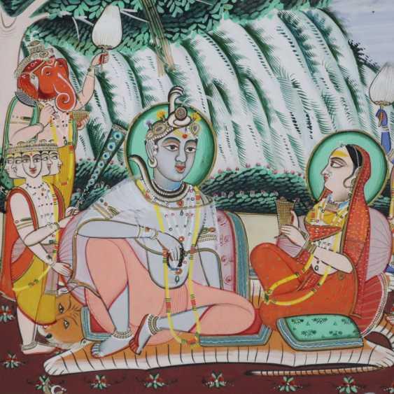Indische Malerei - photo 2