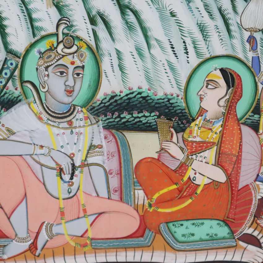 Indische Malerei - photo 3