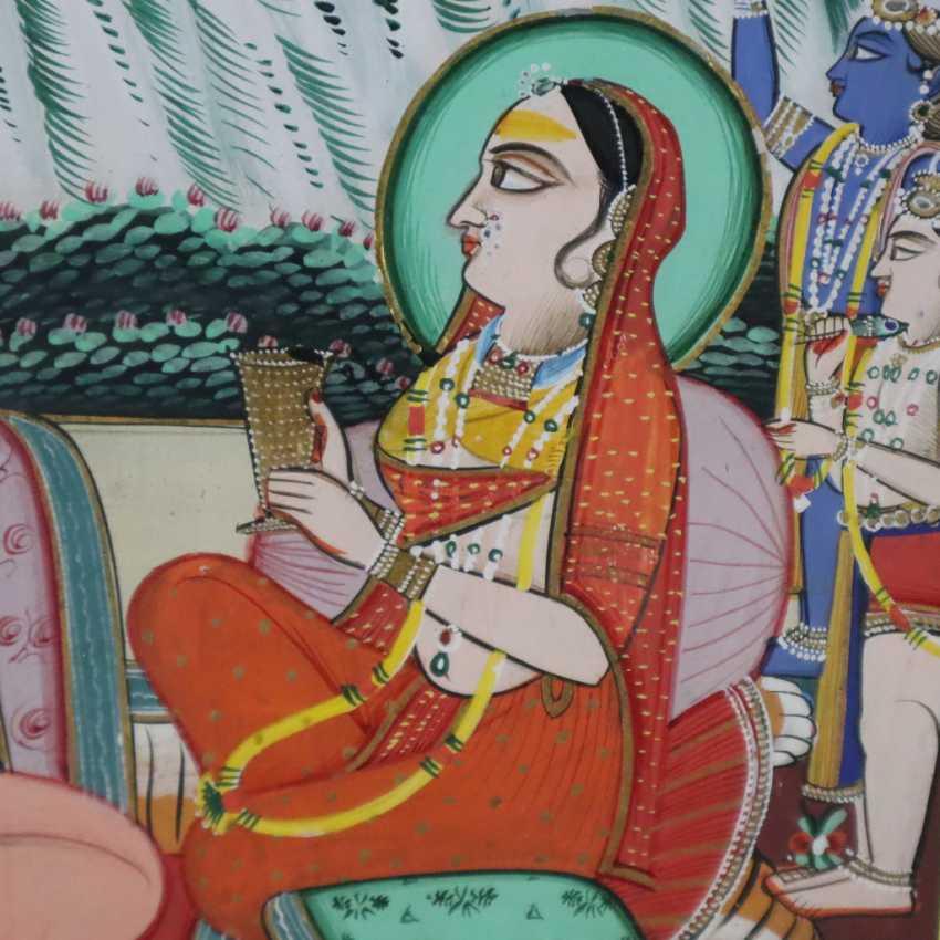 Indische Malerei - photo 5
