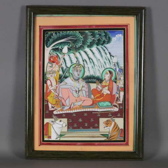 Indische Malerei - photo 9