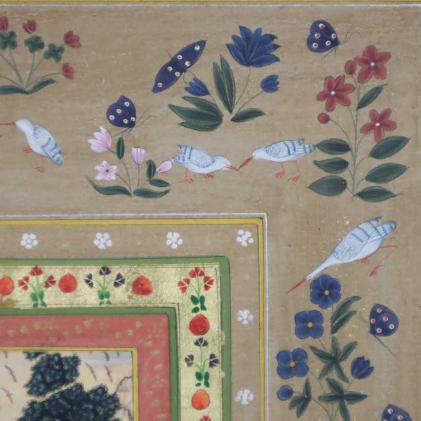 Indische Malerei - photo 4