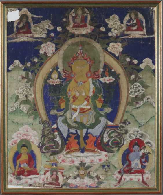 Thangka des Maitreya - photo 1