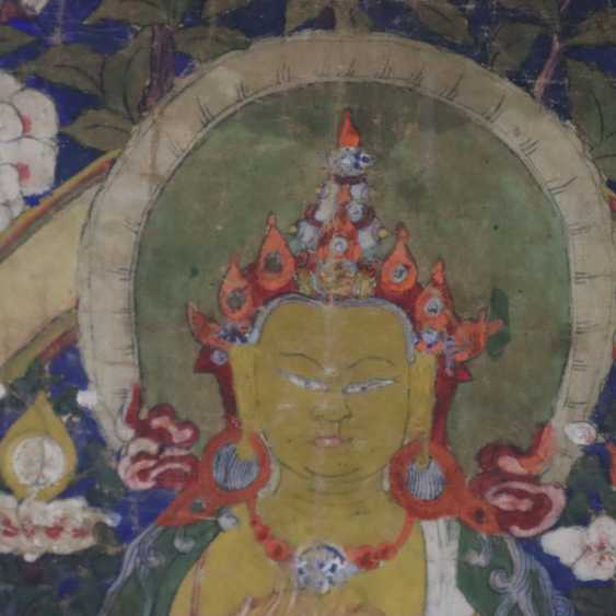 Thangka des Maitreya - photo 4