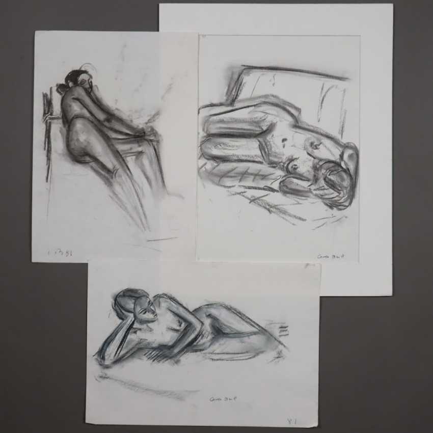 Brill, Carla (1906-Frankfurt/M.-1994, deutsche Bildhauerin, Malerin und Zeichnerin, Meisterschülerin von Max Beckmann am Städel in Frankfurt/M.) - photo 1