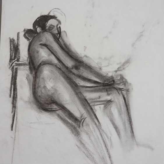 Brill, Carla (1906-Frankfurt/M.-1994, deutsche Bildhauerin, Malerin und Zeichnerin, Meisterschülerin von Max Beckmann am Städel in Frankfurt/M.) - photo 4