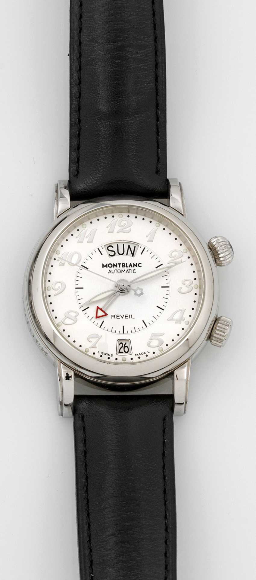 Men's watch from Montblanc, with alarm function - photo 1