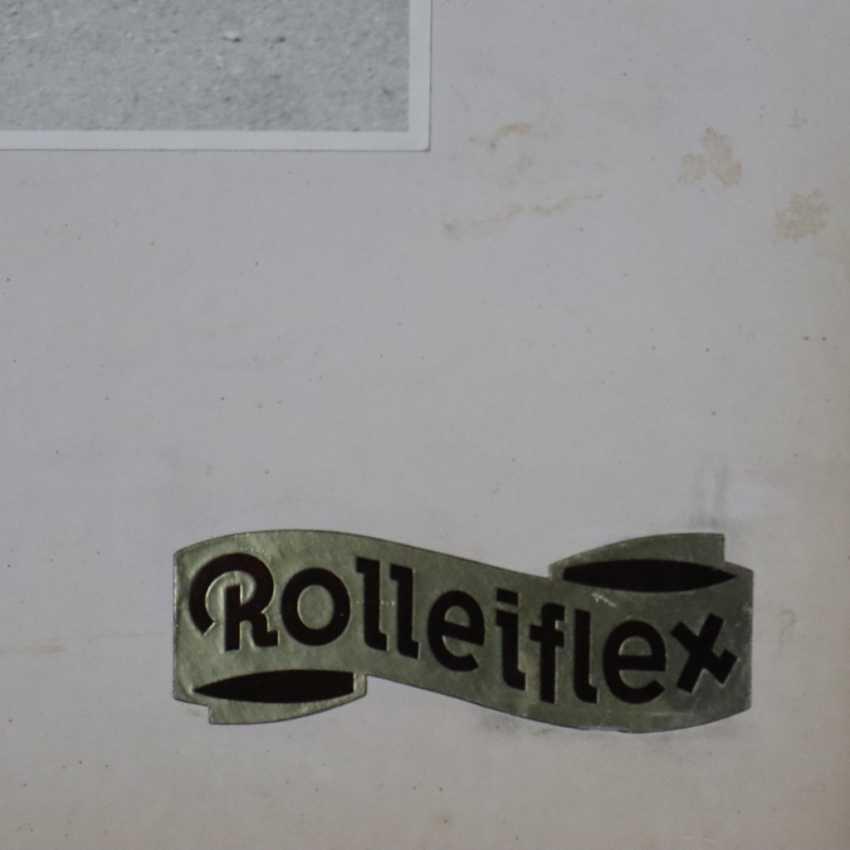 Rolleiflex-Werbetafel mit Photographie-Vergrößerung - photo 5