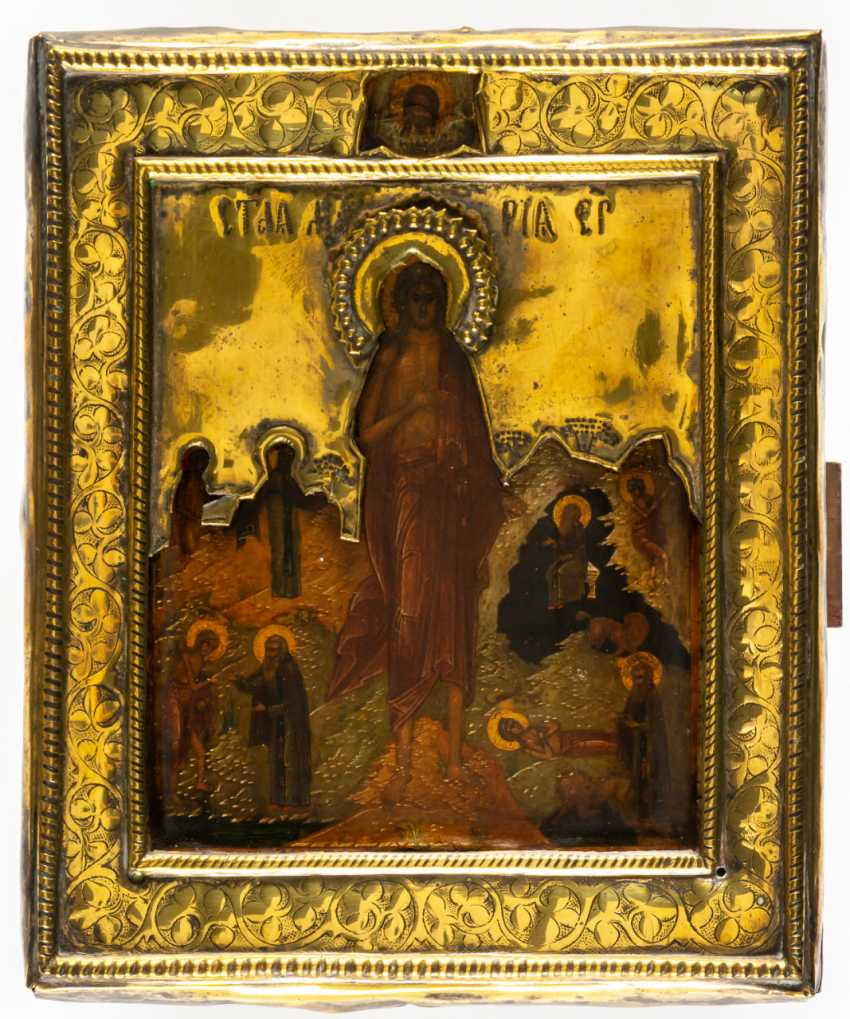 HL. MARY OF EGYPT WITH SCENES OF HER VITA - photo 1