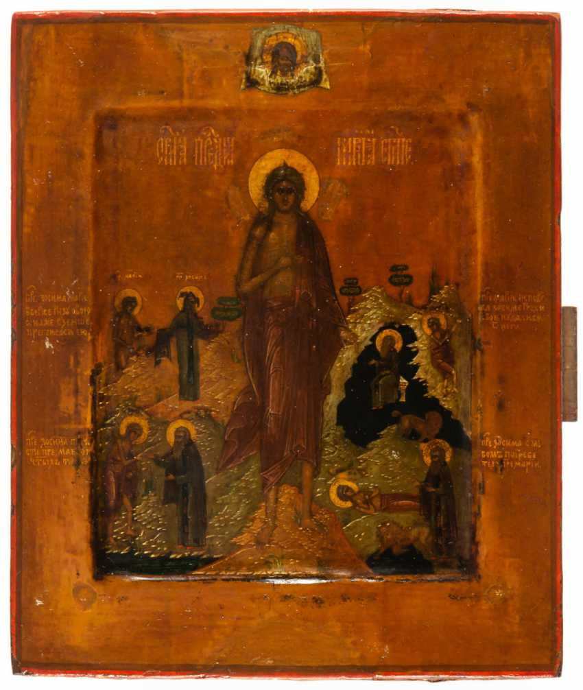 HL. MARY OF EGYPT WITH SCENES OF HER VITA - photo 2