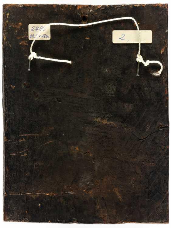 HL. EVANGELIST JOHANNES DICTS THE GOSPEL ON PATMOS TO HIS PUPIL PROCHOROS - photo 2