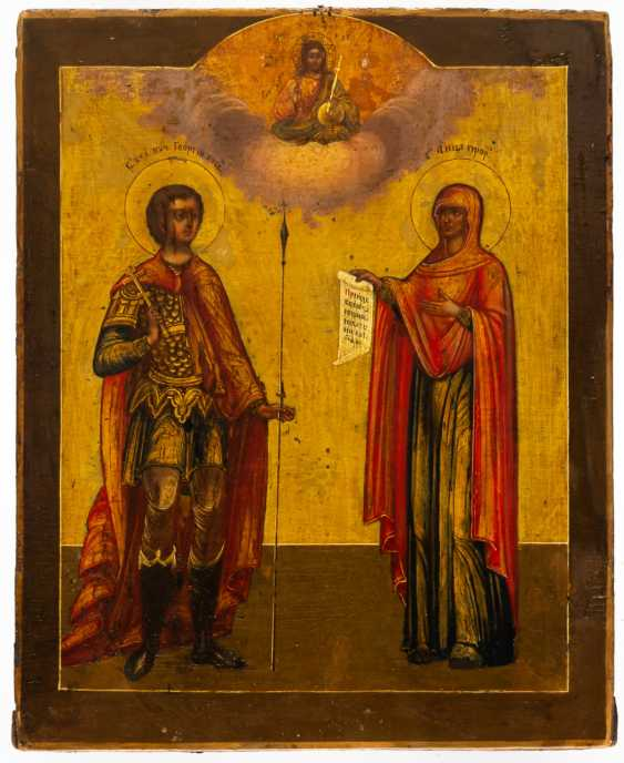 HL. GEORGE AND ST. PROPHET ANNA - photo 2