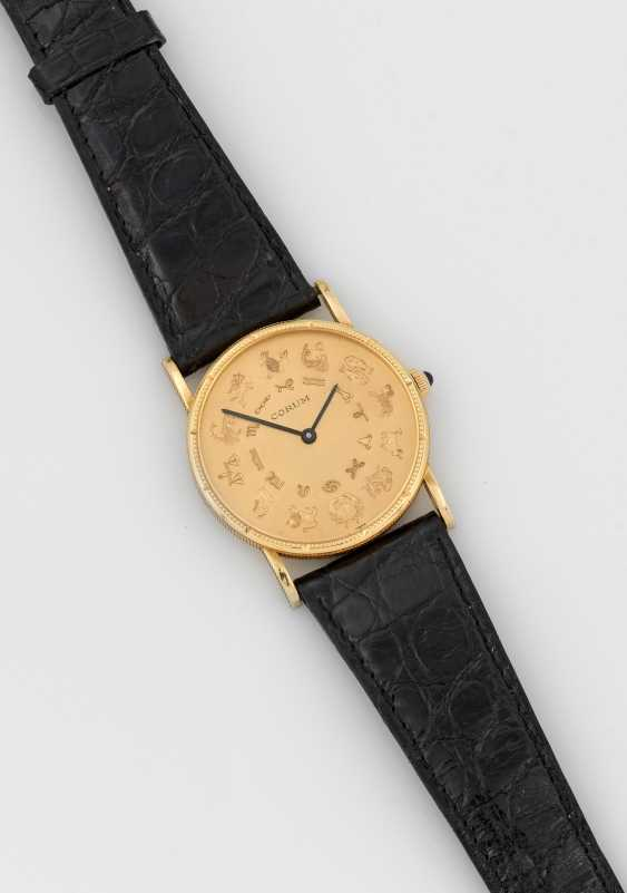 Rare men's wristwatch by Corum with the signs of the zodiac - photo 1