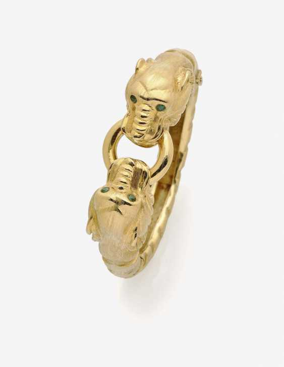 BANGLE WITH LION HEADS - photo 1