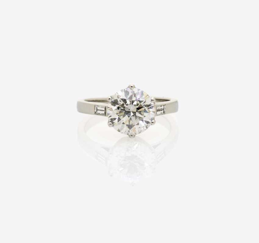 SOLITAIRE RING BRILLIANT - photo 1