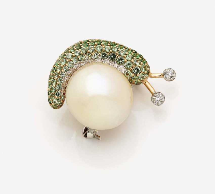 BROOCH IN THE SHAPE OF A SNAIL - photo 2
