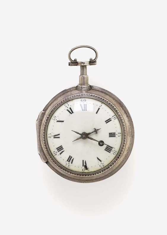 SPINDLE POCKET WATCH WITH QUARTER REPEATER - photo 1
