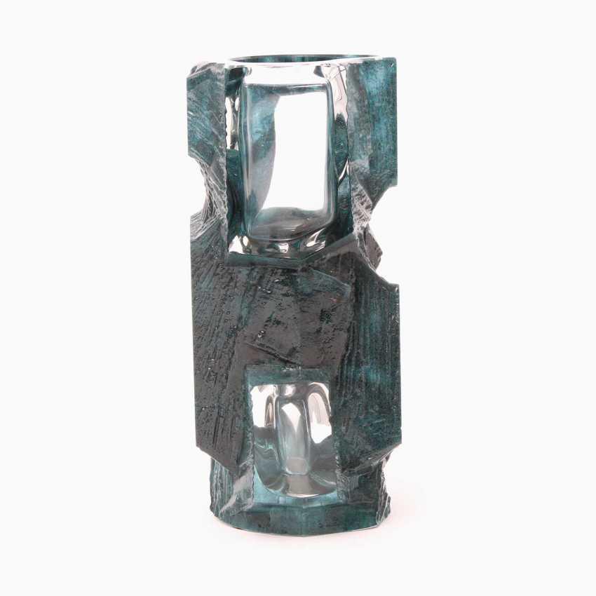 Lot 760  DAUM crystal vase 'Argos', 20  Century from the