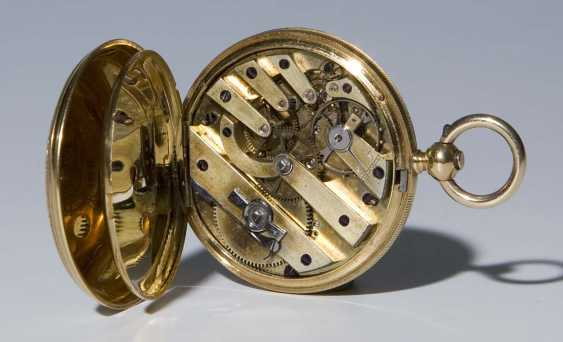 Swiss Gold And Enamel Cased Watch.