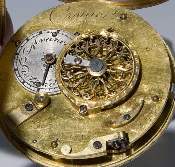 Gold-Enamel-Spindle Pocket Watch. - photo 4