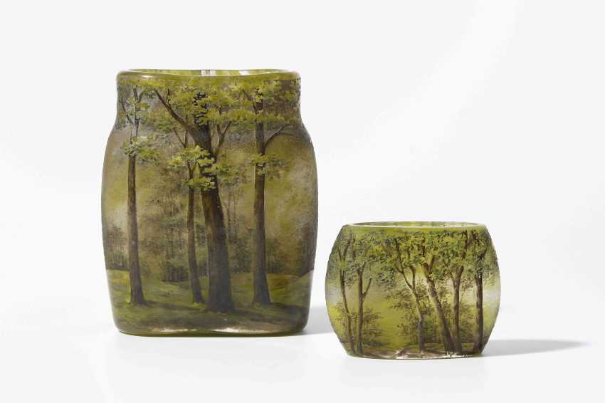 2 kleine vasen daum los 16. Black Bedroom Furniture Sets. Home Design Ideas