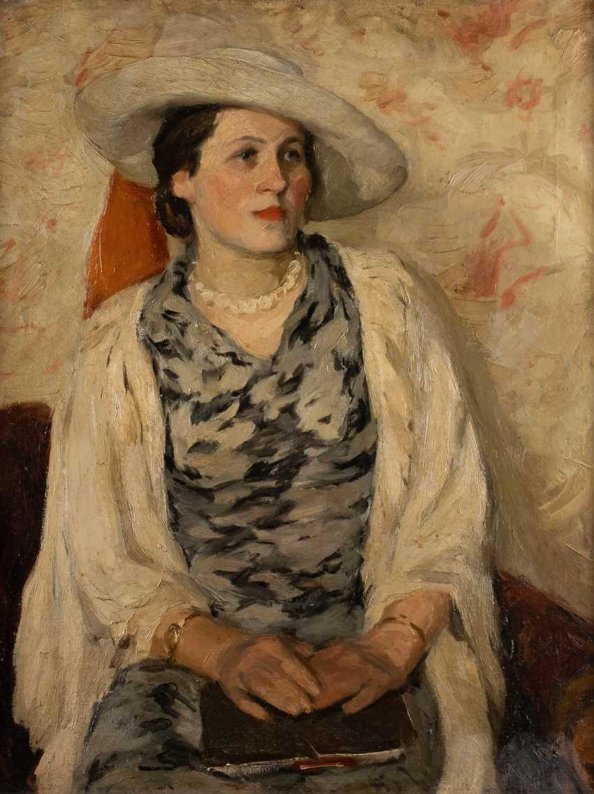 RUSSIAN SCHOOL portrait painter - photo 1