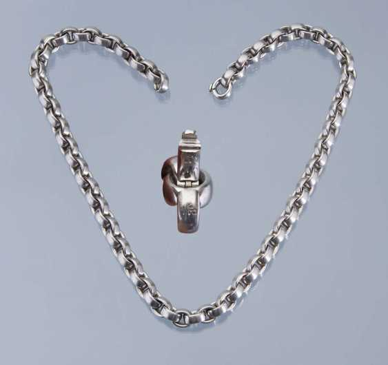 Exclusive Designer platinum necklace from