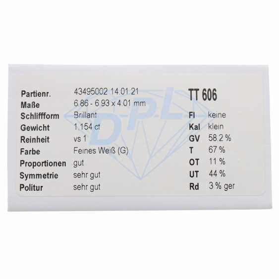 Loose diamond of 1.15 ct, - photo 2