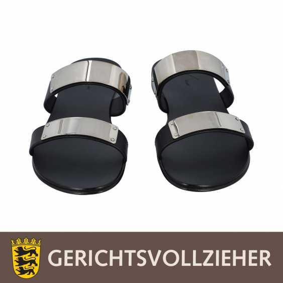GIUSEPPE ZANOTTI pair of shoes size 42.5, - photo 1
