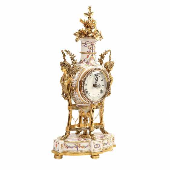 PLEDGE AUCTION - 1 Franklin Mint, Marie-Antoinnette's flower clock - photo 2