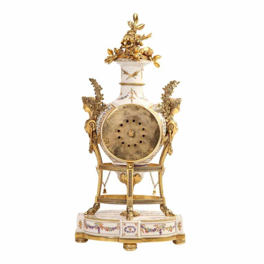 PLEDGE AUCTION - 1 Franklin Mint, Marie-Antoinnette's flower clock - photo 4