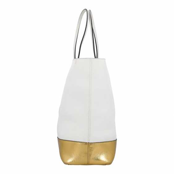 PLANE AUCTION - 1 MOSCHINO shopper bag, white / gold colored - photo 3