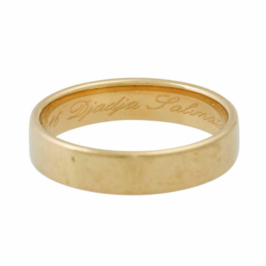 PLEDGE AUCTION - 2 wedding rings, tw. with diamonds, gold - photo 2