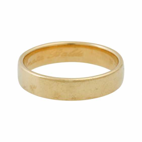 PLEDGE AUCTION - 2 wedding rings, tw. with diamonds, gold - photo 3