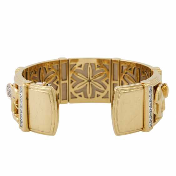 PFANDAUKTION - Armband with princess diamonds 3.65 ct, - photo 2